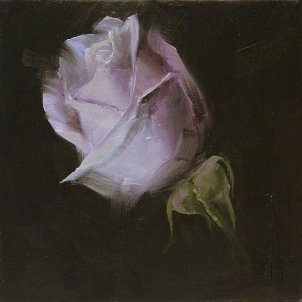 """Rose Study 3"" original fine art by Lori Twiggs"