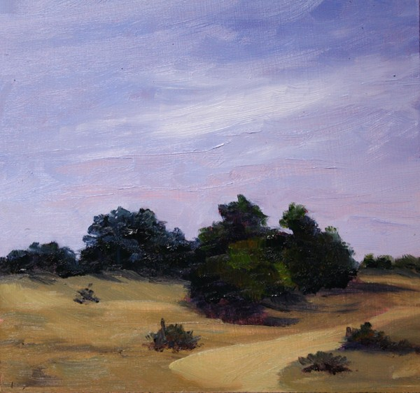 """Arid Land"" original fine art by Jane Frederick"