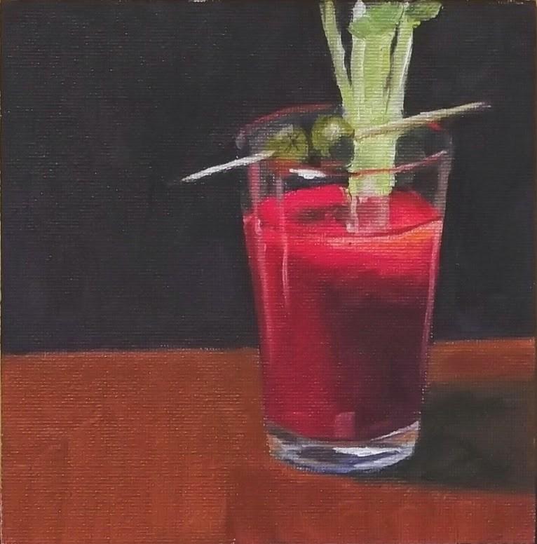 """#28 - Bloody Good!"" original fine art by Eric Larson"