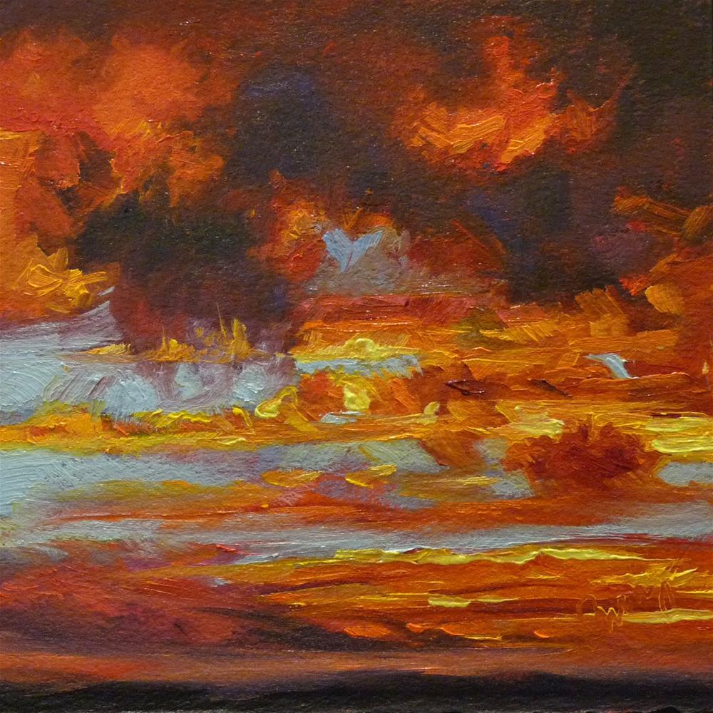 """Sky17"" original fine art by Sharman Owings"