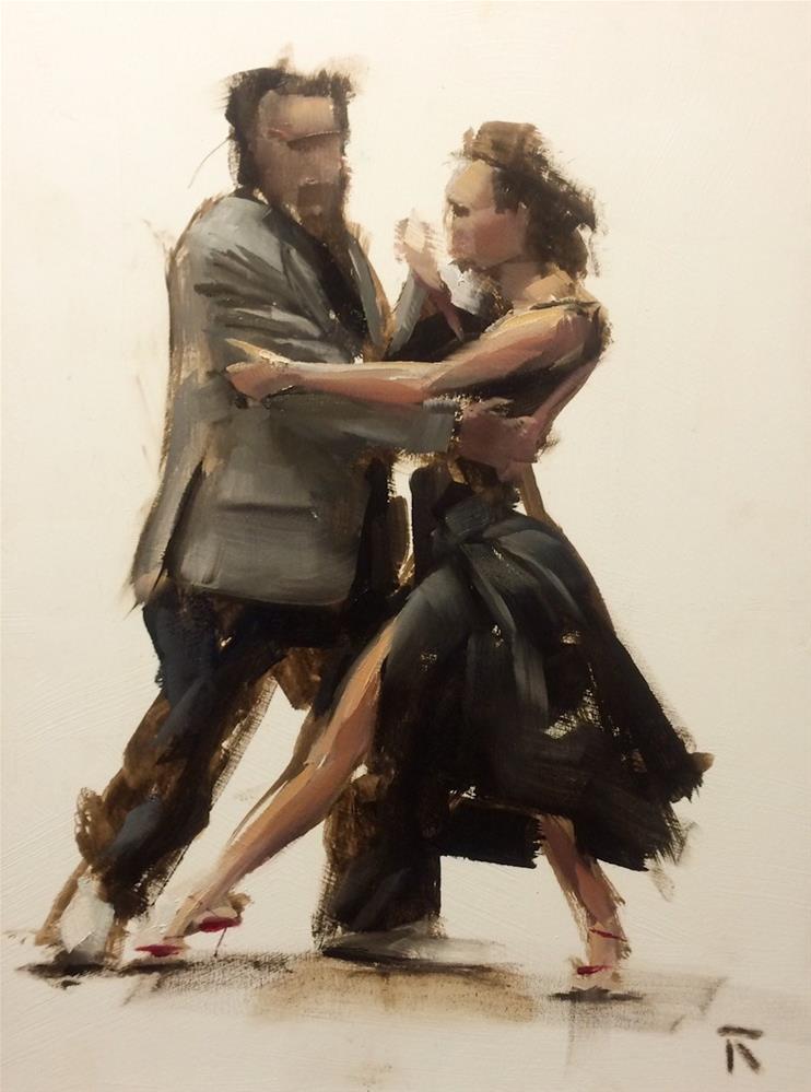 """Tanda Part 1"" original fine art by Thomas Ruckstuhl"