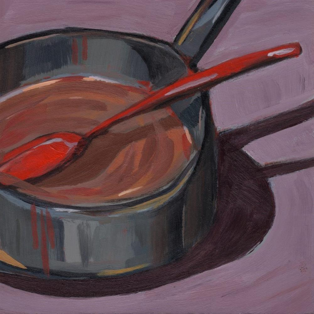 """0307: Paint the Pan"" original fine art by Brian Miller"