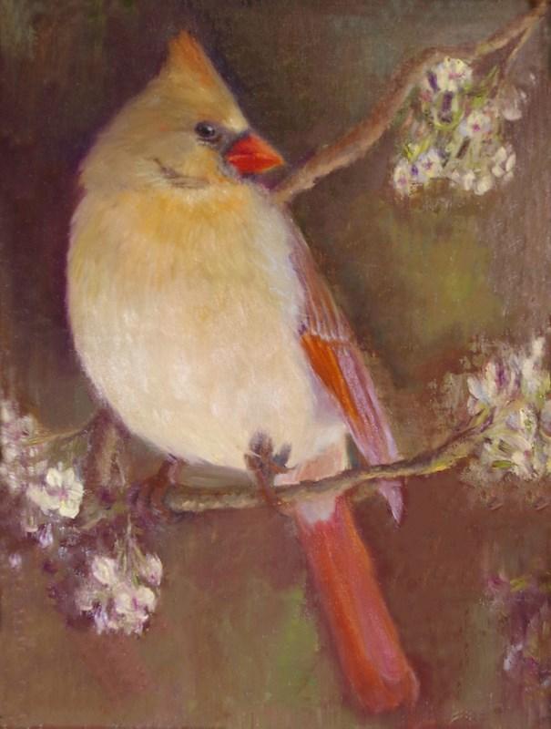 """Grace Revealed"" original fine art by Marilyn R. Place"