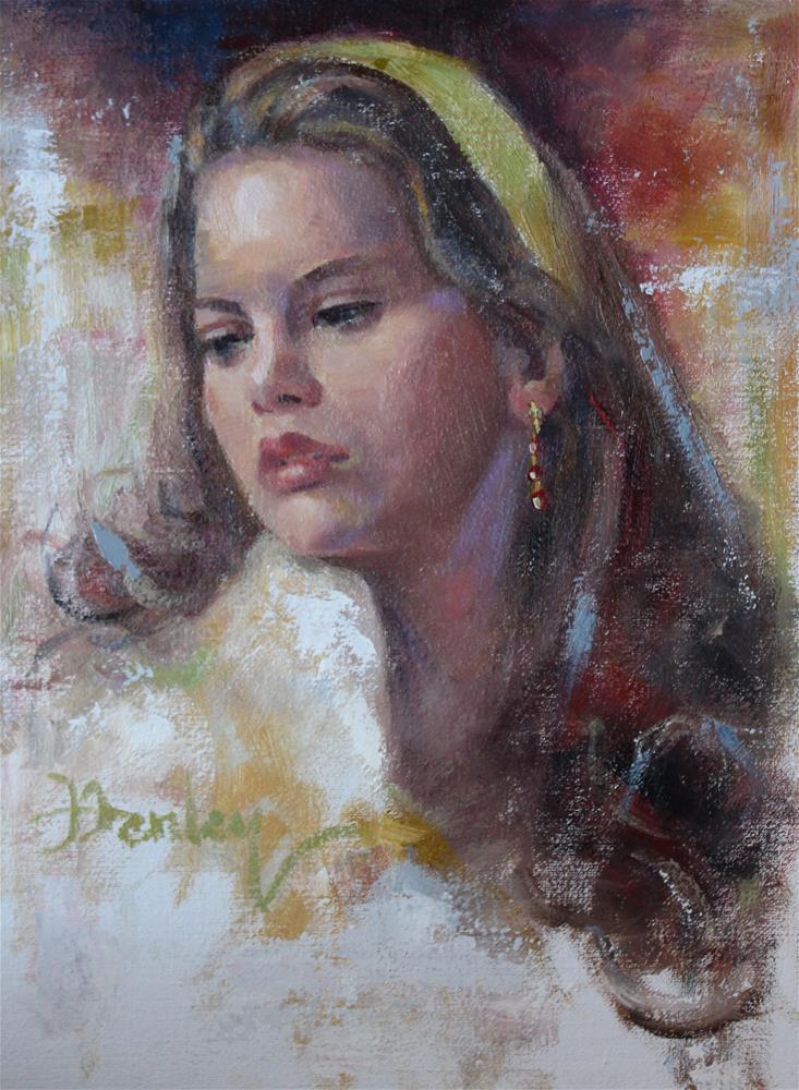 """Mary-Ann"" original fine art by Denise Henley"