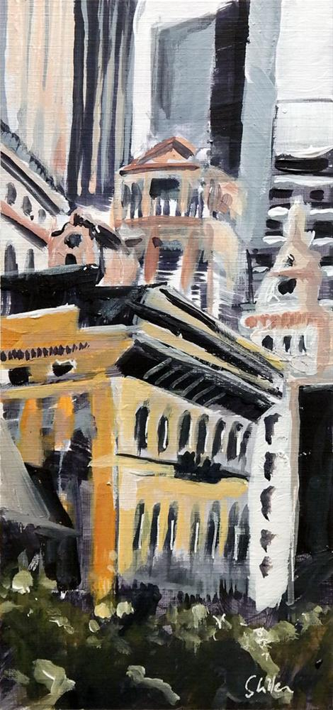 """""""2711 NYC Quicky 3"""" original fine art by Dietmar Stiller"""