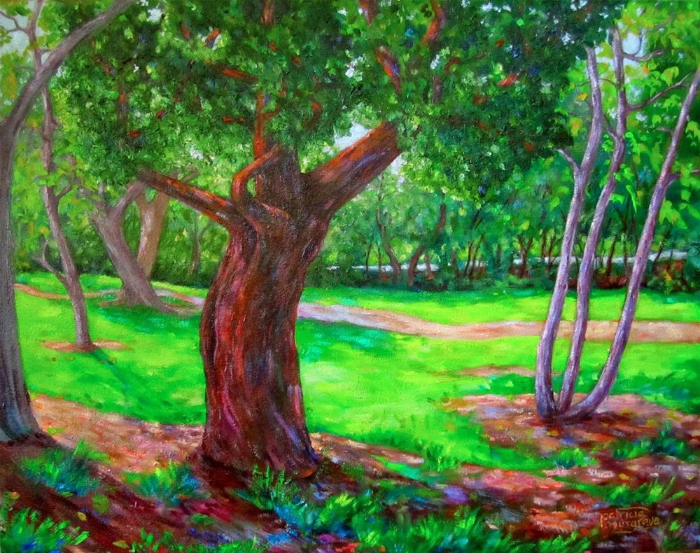 """Heritage Oak Tree"" original fine art by Patricia Musgrave"