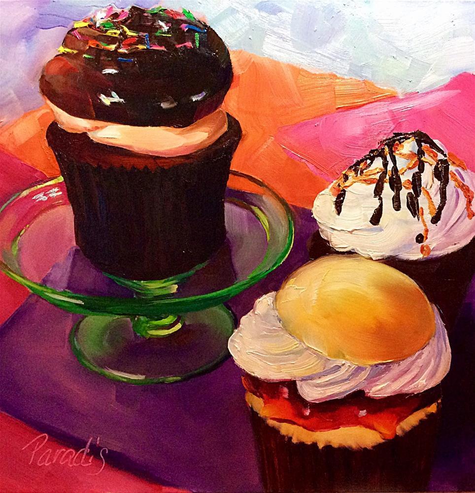 """Things That Make Us Happy"" original fine art by Rita Paradis"