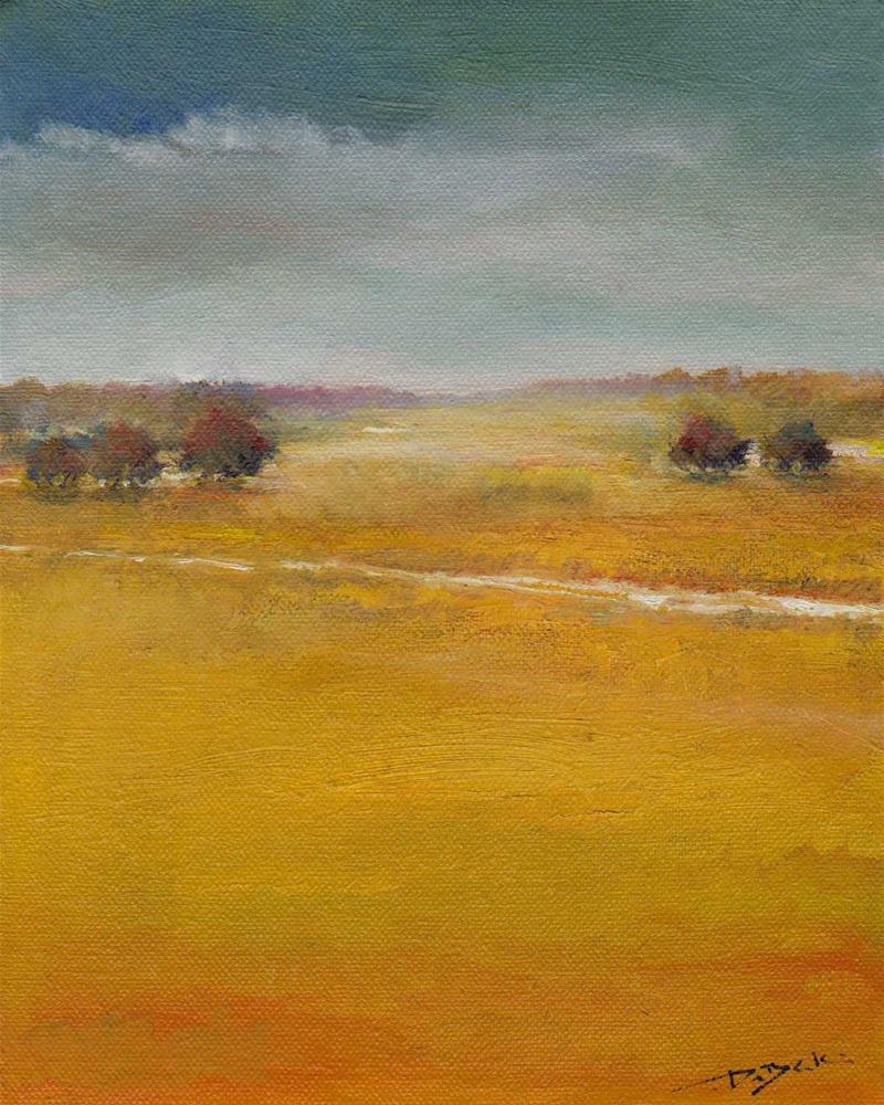 """""""small road"""" original fine art by Mark DeBak"""