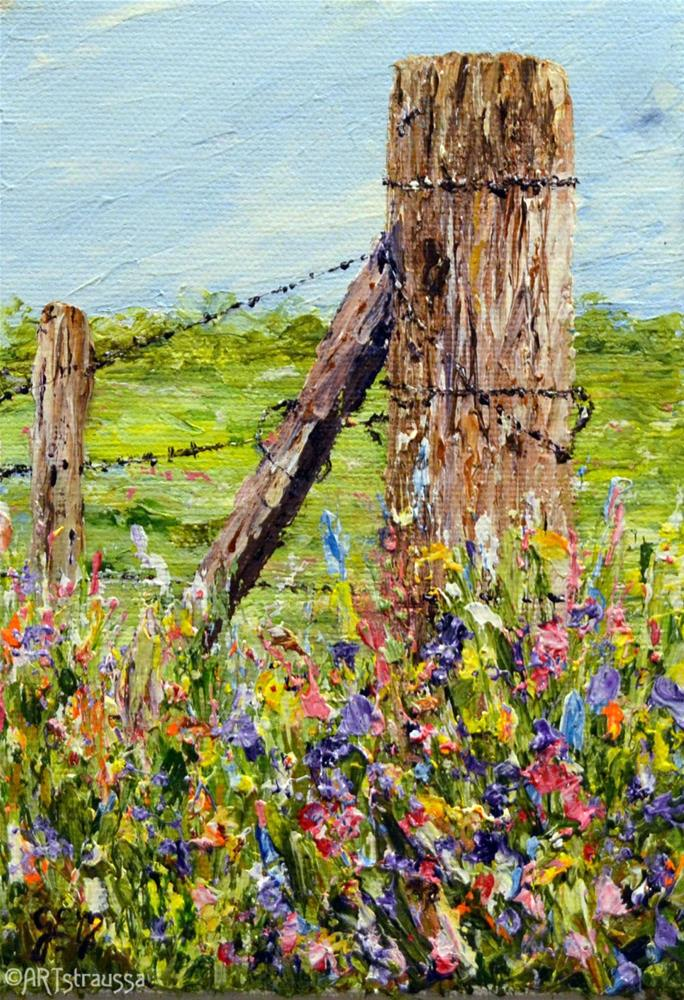 """Rural Beauty"" original fine art by Gloria Ester"