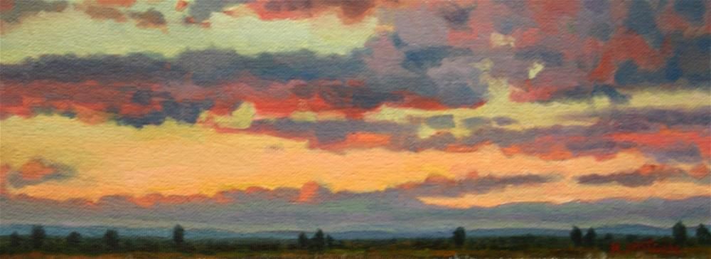"""Colorful Sublime"" original fine art by K.R. McCain"