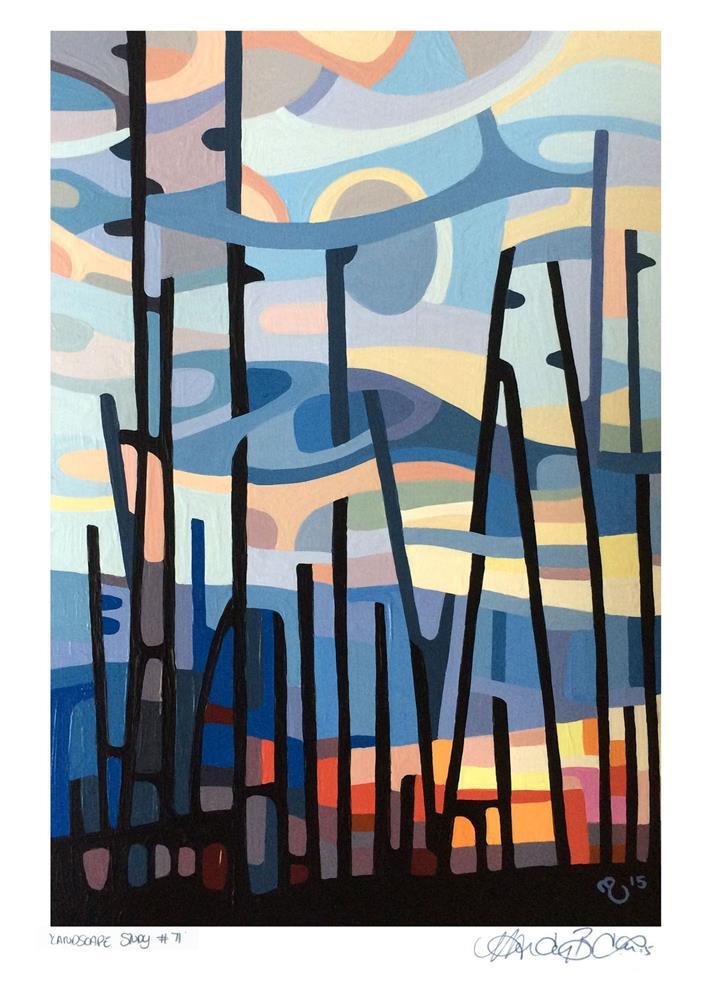 """Landscape Study #71"" original fine art by Mandy Budan"