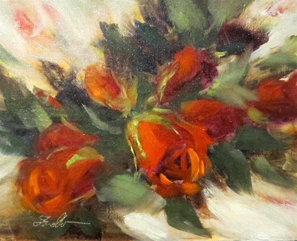 """""""Romance"""" original fine art by Pat Fiorello"""
