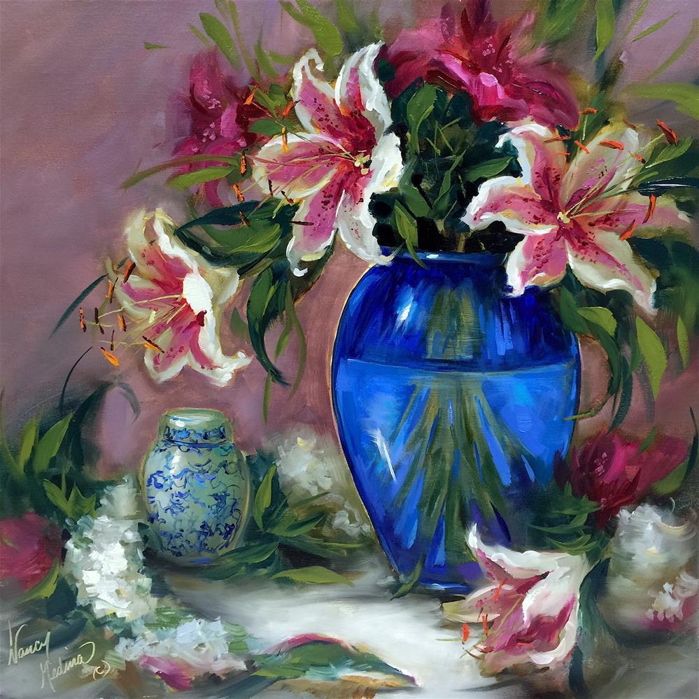 """Dreamy Gazers - Nancy Medina Art Classes and Videos"" original fine art by Nancy Medina"