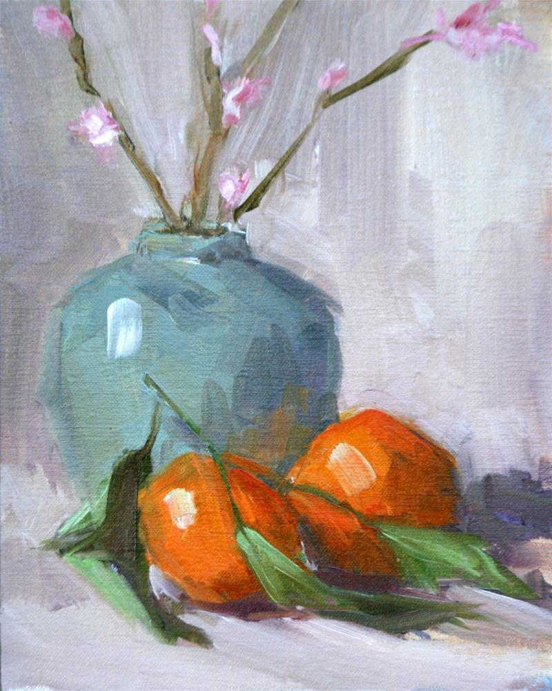 """""""satsumas"""" original fine art by Carol Carmichael"""