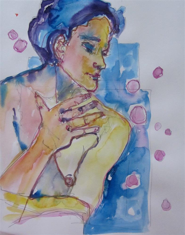 """Sketchbook Figure Study 3"" original fine art by Patricia MacDonald"