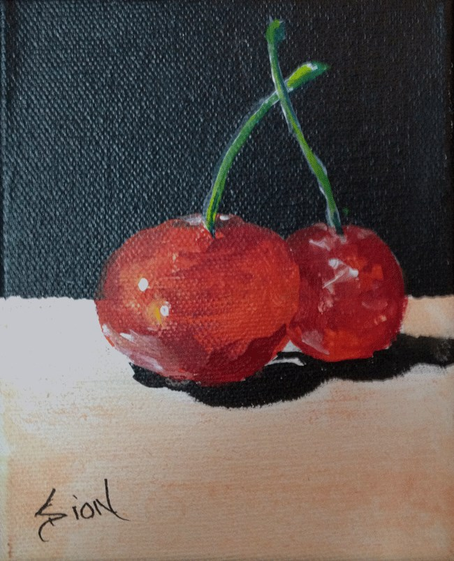 """""""Two for the Show"""" original fine art by Sue Dion"""