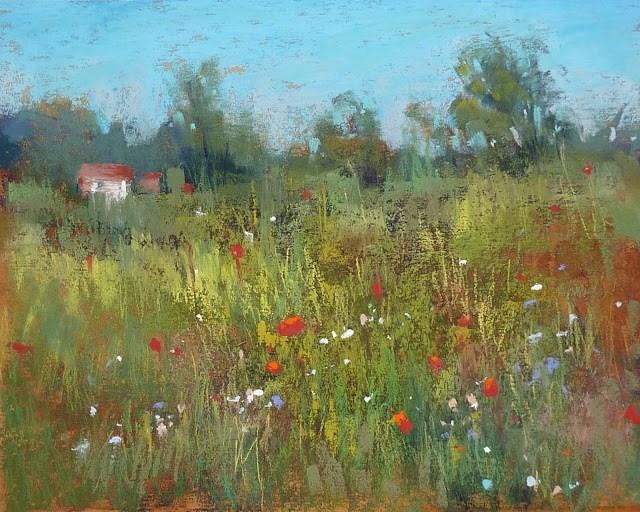 """A Week in Croatia: The Villa Gloria and the Flowers!"" original fine art by Karen Margulis"