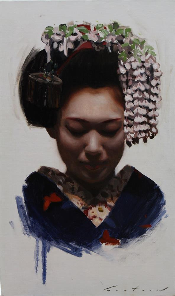 """Katsusen"" original fine art by Phil Couture"