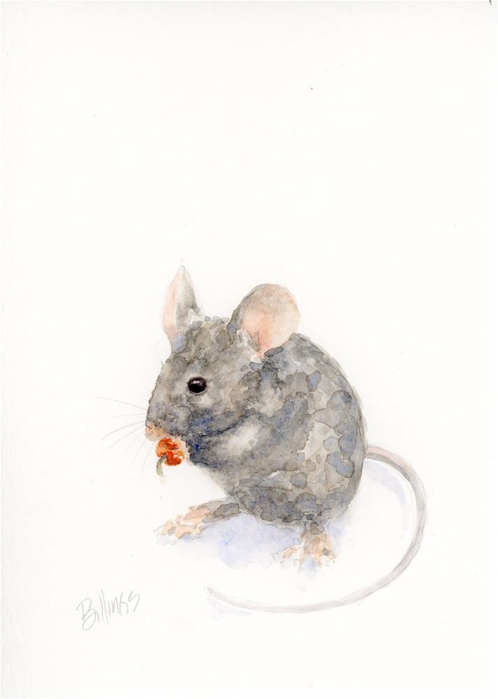 """A Mouse Study IV"" original fine art by Susanne Billings"