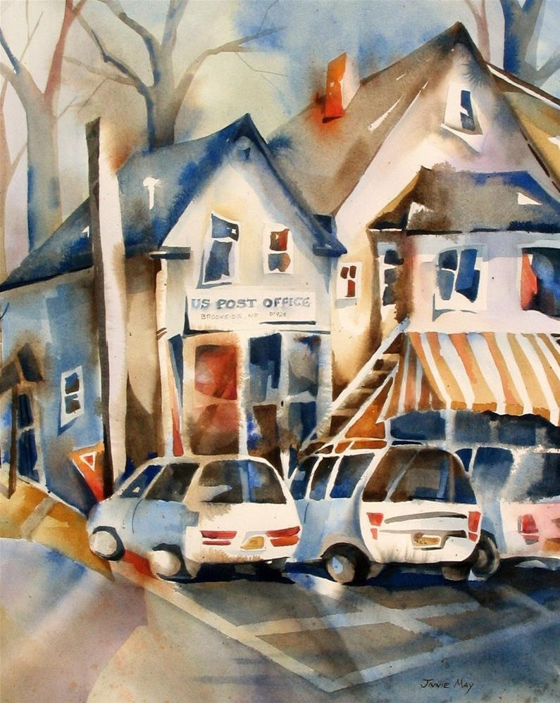 """Brookside ,NJ"" original fine art by Jinnie May"