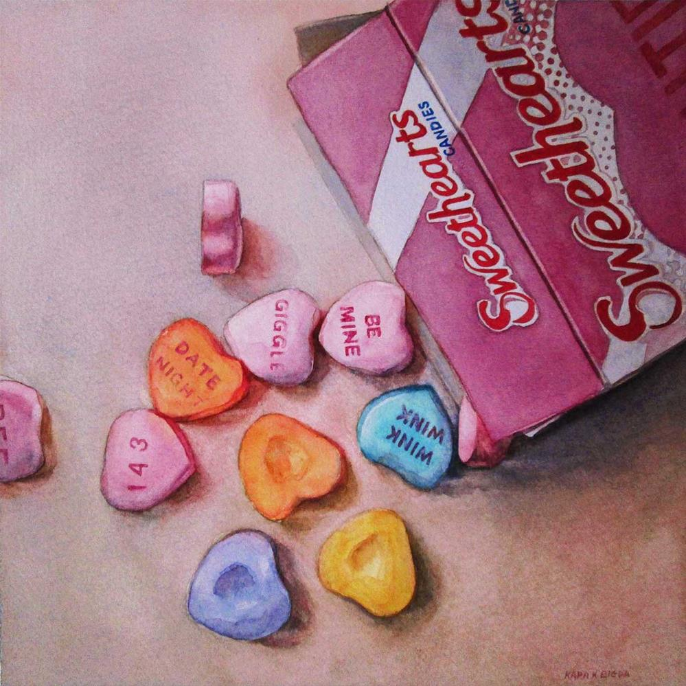 """Be Mine"" original fine art by Kara K. Bigda"