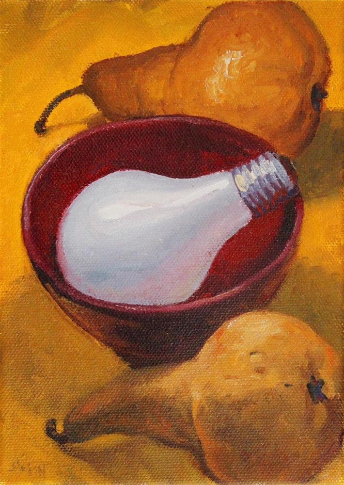 """The Interloper"" original fine art by Ski Holm"