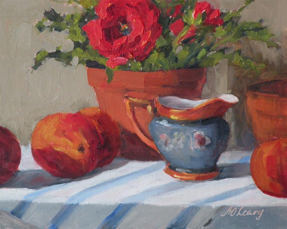"""""""That's Ranunculus"""" original fine art by Alice O'Leary"""