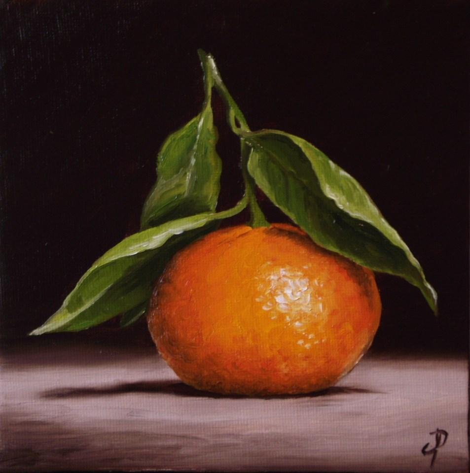 """""""Clementine"""" original fine art by Jane Palmer"""