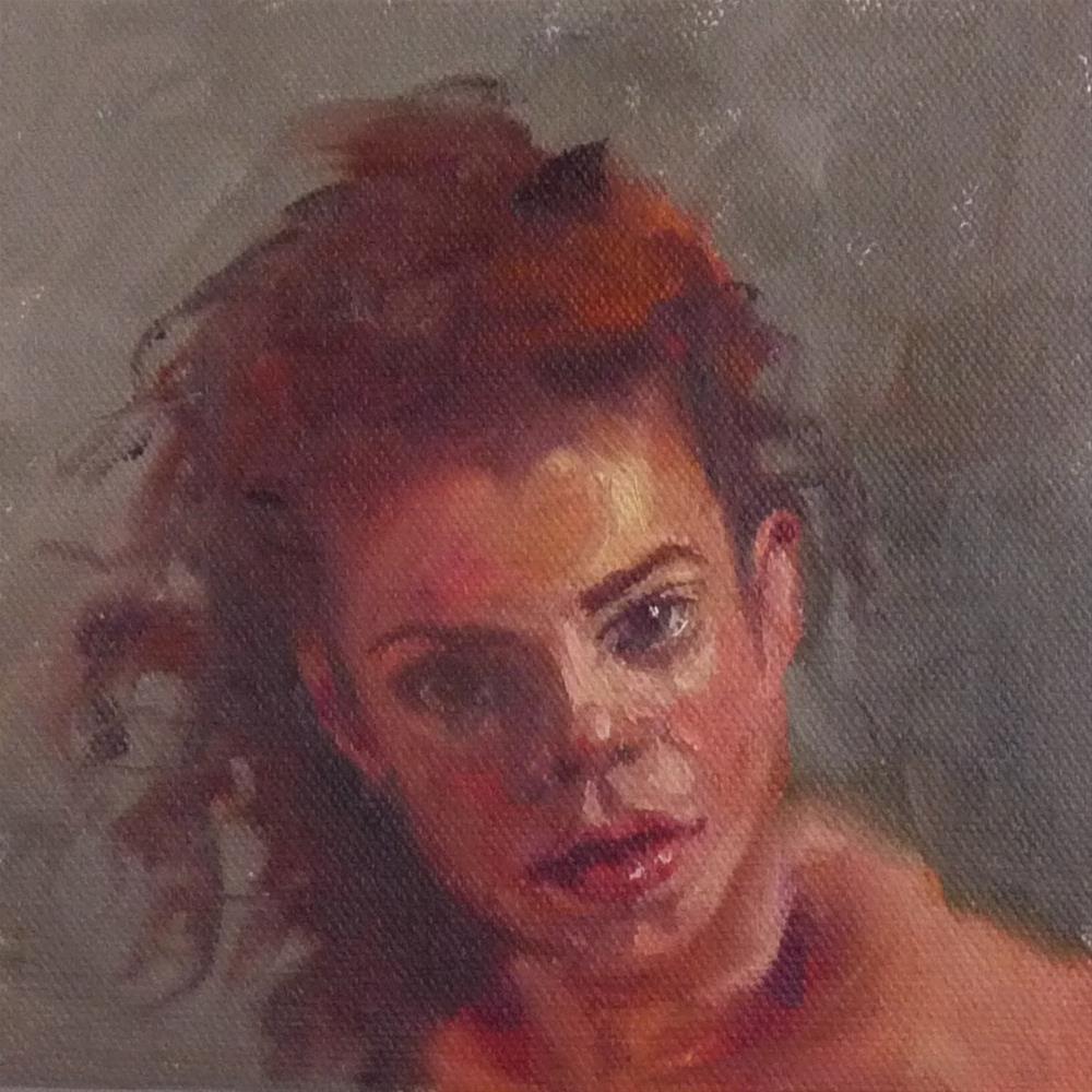 """Doe"" original fine art by Sharman Owings"