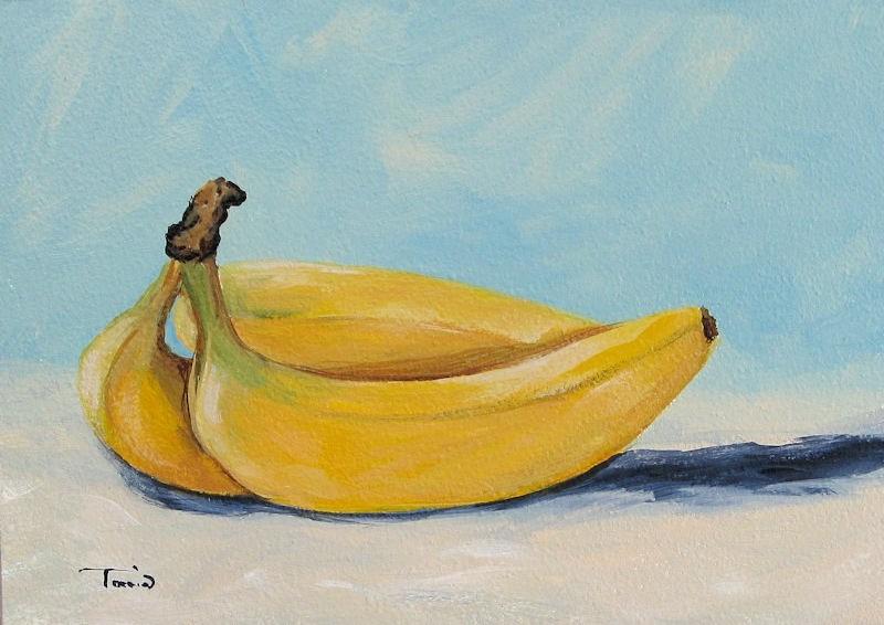 """Bananas"" original fine art by Torrie Smiley"