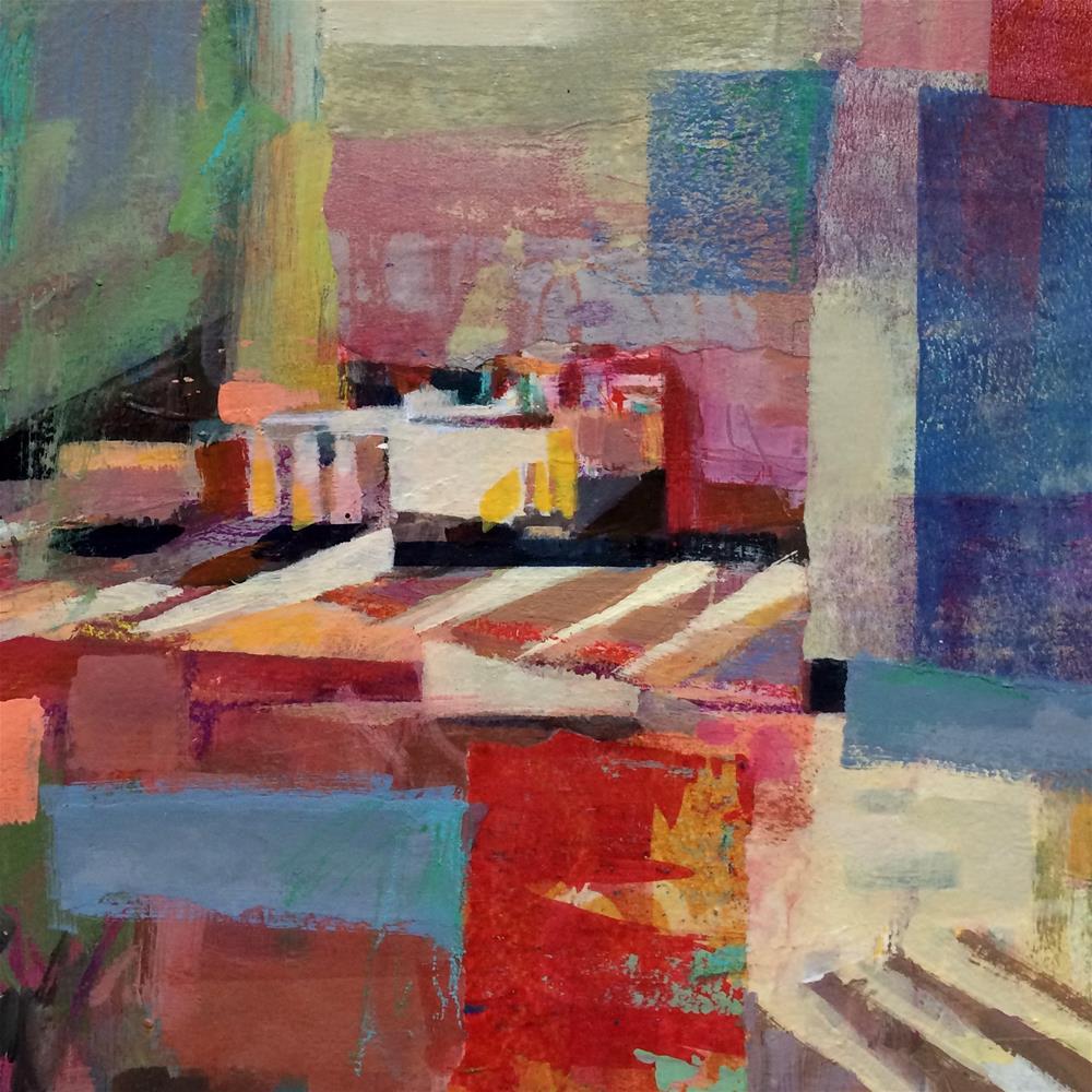 """""""Crosswalk"""" original fine art by Patti Mollica"""
