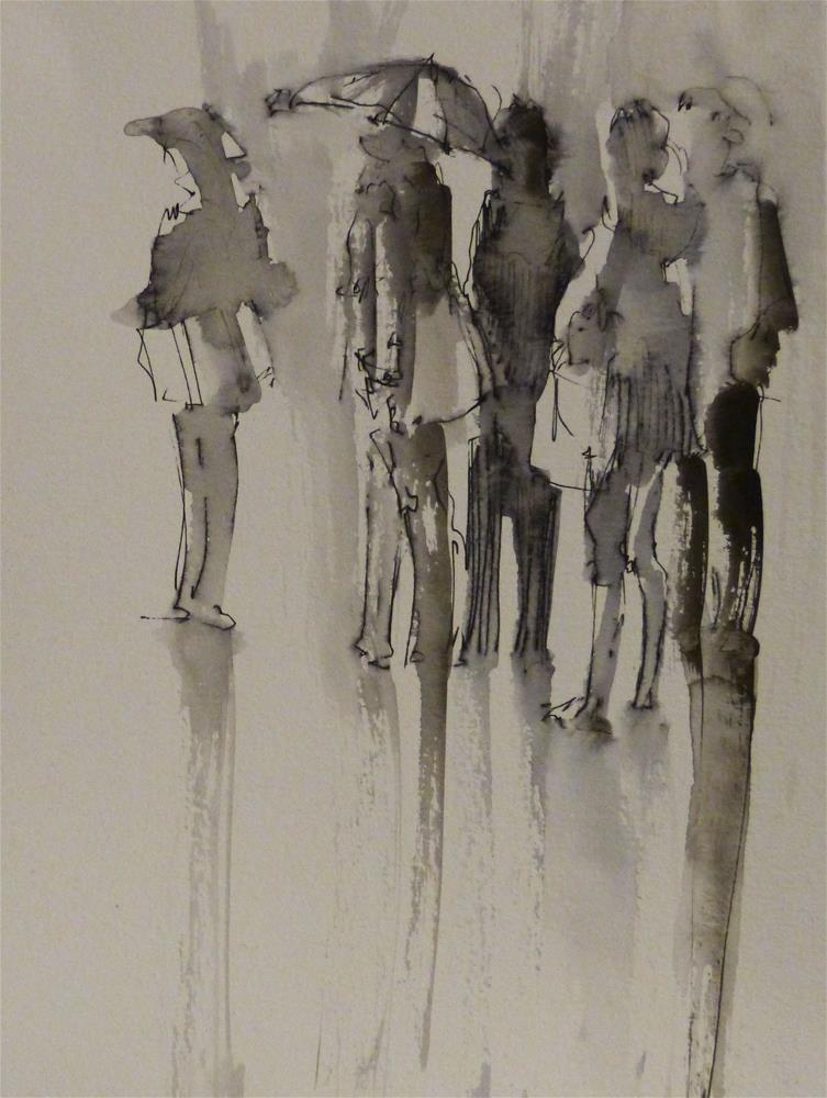 """urban2"" original fine art by Katya Minkina"