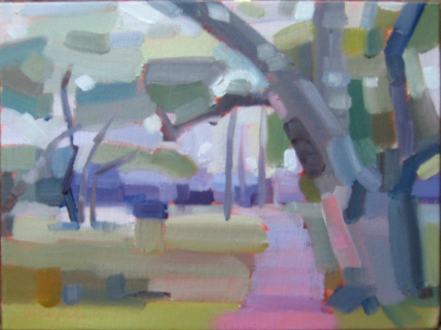"""Angela's Path"" original fine art by Nancy Parsons"