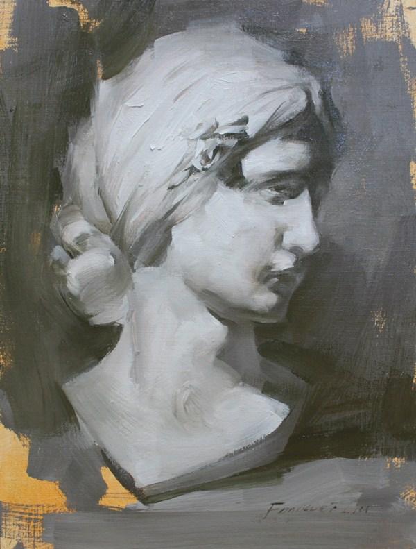 """""""La Traviata April"""" original fine art by Fongwei Liu"""