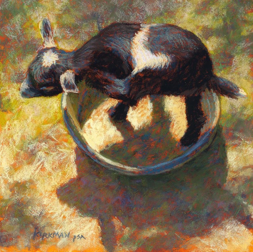 """Dry Bath"" original fine art by Rita Kirkman"