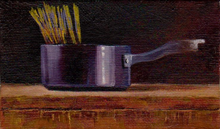 """""""spaghetti"""" original fine art by Mark DeBak"""