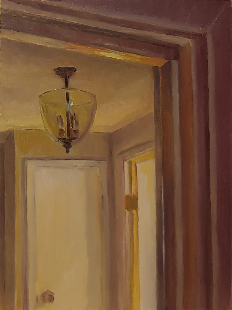 """Hallway Light"" original fine art by Edward Watson"