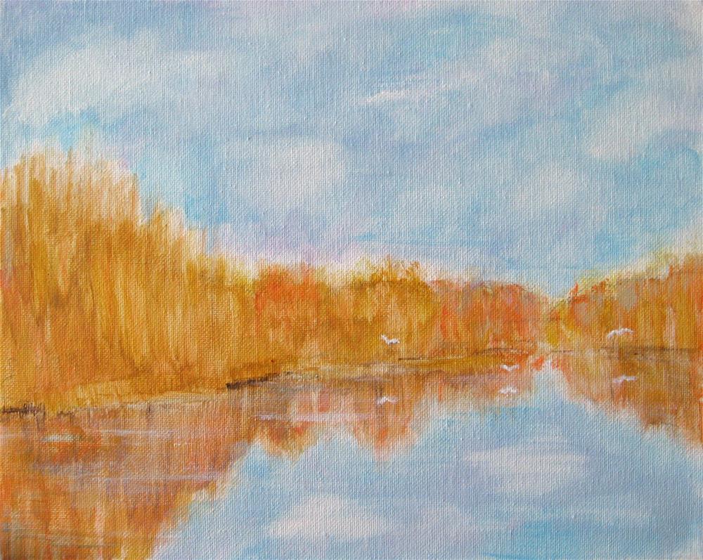 """""""In The Delta"""" original fine art by Alina Frent"""