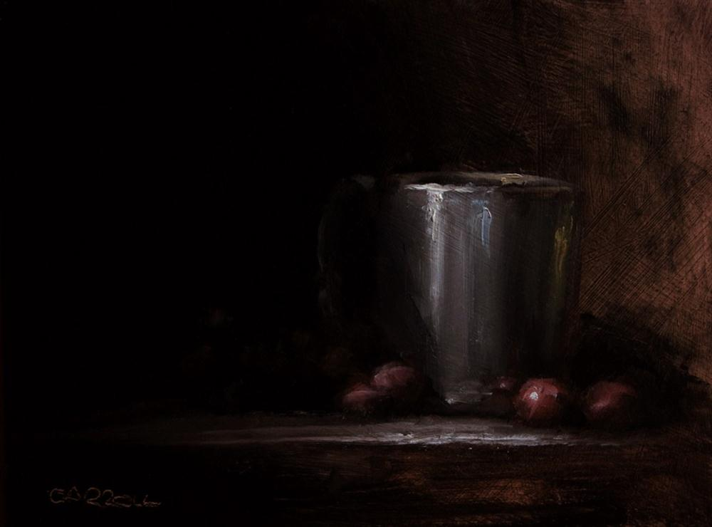 """Cup"" original fine art by Neil Carroll"