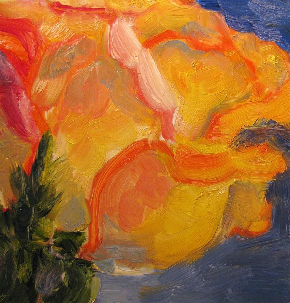 """""""Romance Rose"""" original fine art by Susan Elizabeth Jones"""