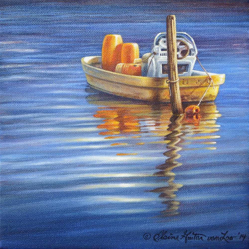 """Fully Loaded"" original fine art by Elaine Guitar van Loo"