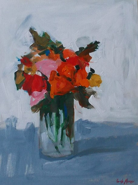 """Bloom Brightly II"" original fine art by Pamela Munger"