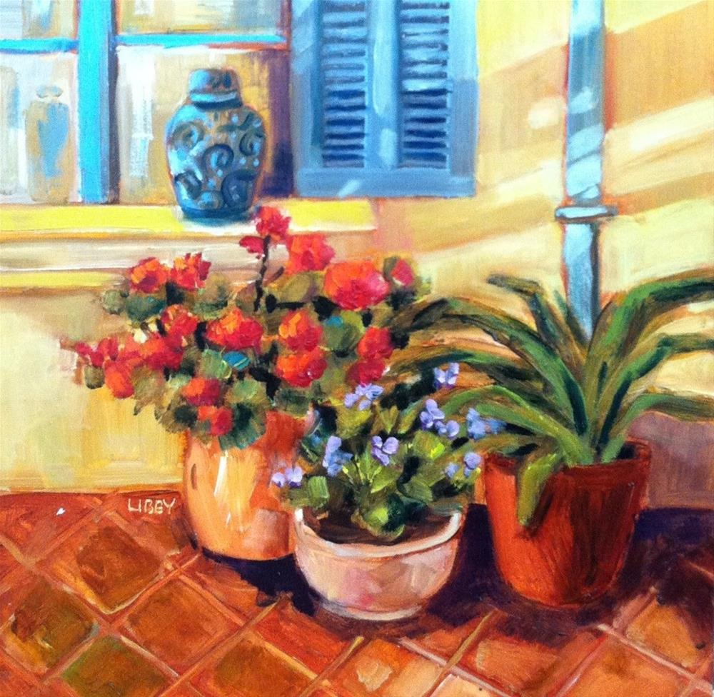 """Ginger Jar"" original fine art by Libby Anderson"