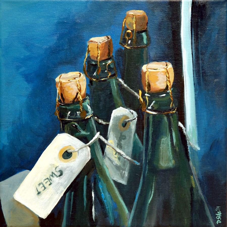 """""""0930 Sweet Cidre"""" original fine art by Dietmar Stiller"""