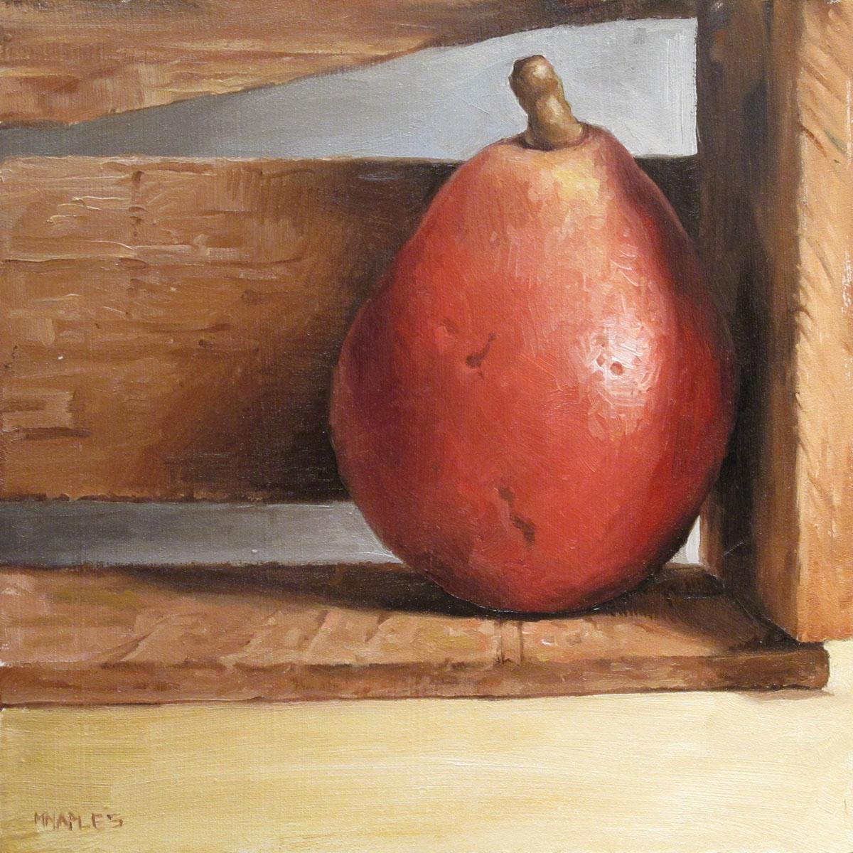 """Crated"" original fine art by Michael Naples"