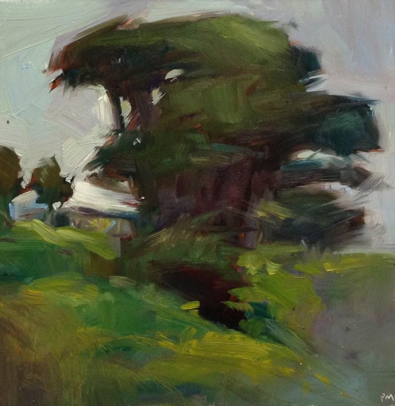 """Bandon Browns and Greens"" original fine art by Patti McNutt"