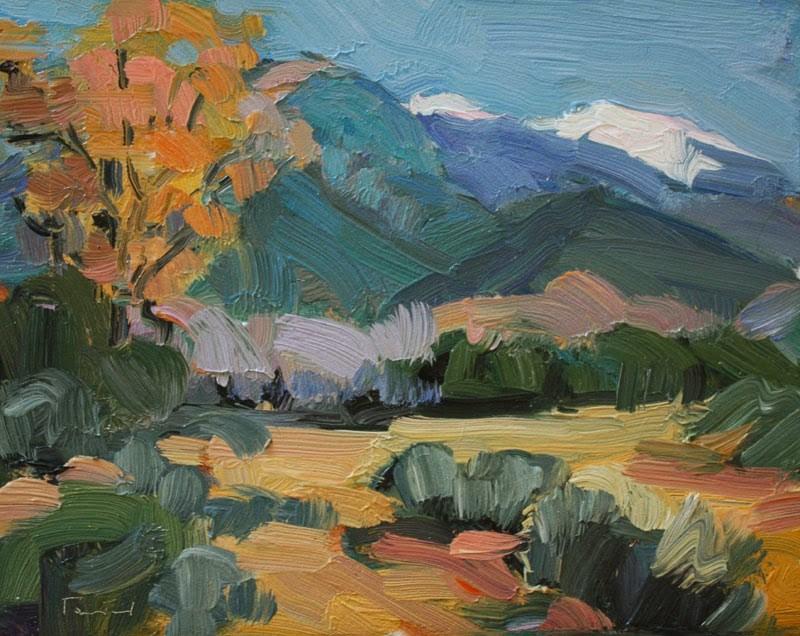 """Wheeler Peak"" original fine art by Kathryn Townsend"