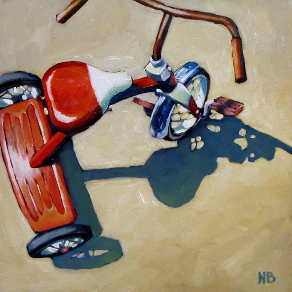 """Reserved Parking"" original fine art by Nora Bergman"