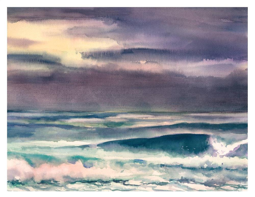 """""""After the Storm"""" original fine art by Suzanne Woodward"""