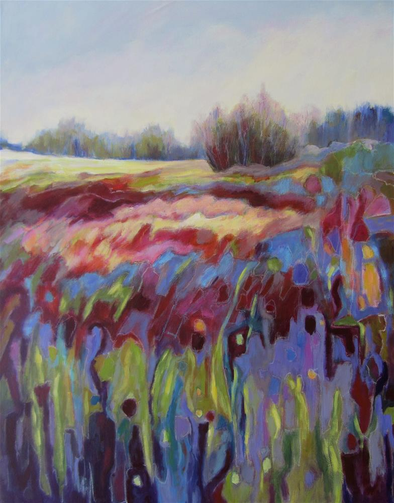 """Colourfield I"" original fine art by Patricia MacDonald"